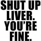 Epic Adult/Youth Shut Up Liver Cotton T-Shirts