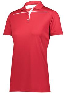 Holloway Ladies Defer Polo. Embroidery is available on this item.
