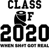Epic Adult/Youth 2020 Got Real Cotton T-Shirts
