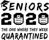 Epic Adult/Youth 2020 Senior #2 Cotton T-Shirts