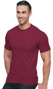 Bayside Adult 6.1 oz. Cotton Pocket T-Shirt BA3015. Decorated in seven days or less.