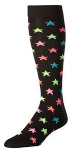 Twin City Krazisox Over the Calf Stars Socks