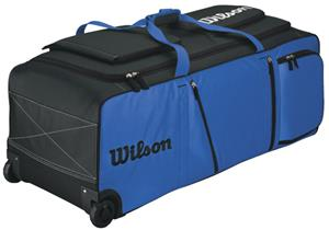 Wilson Pudge Baseball Softball Bags On Wheels - Baseball Equipment ... d06255d44