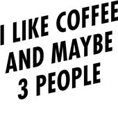 Epic Adult/Youth I Like Coffee Cotton T-Shirts