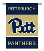 "Pittsburgh Panthers 2-Sided 28"" x 40"" House Banner"