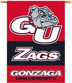 "Gonzaga Bulldogs 2-Sided 28"" x 40"" House Banner"