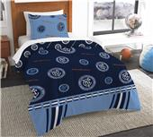 Northwest MLS NYC FC Twin Comforter/Shams
