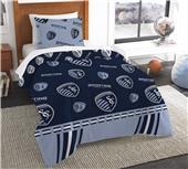 Northwest MLS Sporting KC Twin Comforter/Shams
