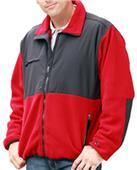 Blue Generation Men's Polar Nylon/Fleece Jackets