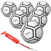 GoSports Elite Match Soccer Balls 6 PACK Size 5