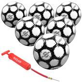 GoSports Fusion Soccer Balls 6 PACK Size 3,4,5