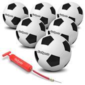 GoSports Playground Soccer Balls 6 PACK Size 4,5