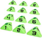 GoSports Modern Sports Cone 12 Numbers #1-12