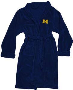 Northwest NCAA Michigan Silk Touch Bath Robe