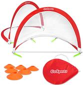 GoSports 2.5' Portable Pop-Up Soccer Goals (Set/2)
