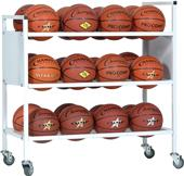 Champion Sports Double Wide Ball Carts