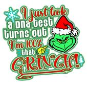 Epic Ladies 100% that Grinch V-Neck T-Shirts