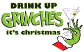 Epic Ladies Drink up Grinches V-Neck T-Shirts