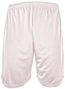"Epic Adult 9""- Youth 6""  Inseam WHITE Lined Shorts w/Slight Pink Tint"