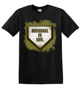 Epic Adult/Youth Baseball is Life Cotton Graphic T-Shirts. Free shipping.  Some exclusions apply.