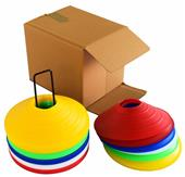 """Blazer Athletic 2"""" Marker Cones On A Stand (Set of 50)"""