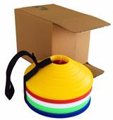 """Blazer Athletic 2"""" Marker Cones With Carrying Strap (Set of 40)"""
