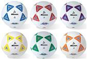 Mikasa SS Series Deluxe Cushioned Cover Soccer Balls (Set 6)