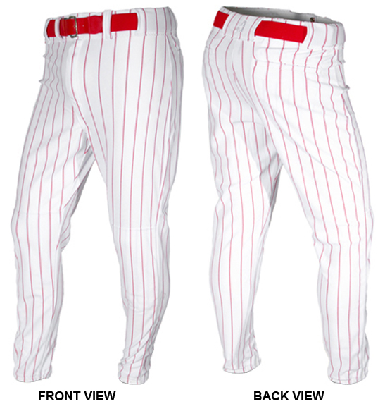 A4 Boys Baseball Knicker Pant Grey//Royal