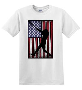 Epic Adult/Youth Baseball Flag Cotton Graphic T-Shirts. Free shipping.  Some exclusions apply.