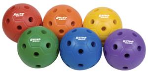 Champion Sports Rhino Skin Mini Soccerballs Set 6