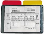 Champion Sports Referee Wallet With Cards & Pad
