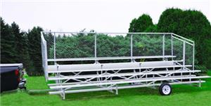 15' or 21' Bleacher Transport Kit With Wheels