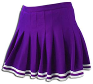 Pizzazz Red Pleated Cheer Uniform Adult Skirt S