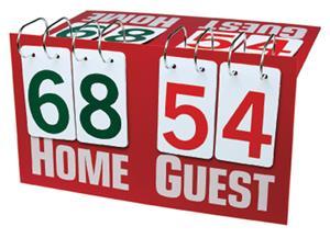 Getz deluxe flip table top sports scoreboards