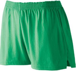 Augusta Sportswear Girls Trim Fit Jersey Shorts