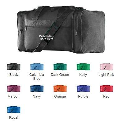 73fe41c01534 Augusta Sportswear 600D Poly Small Gear Bags