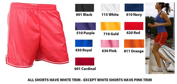 Red Cardinal Shorty Short Gym Shorts 2.5 Inseam
