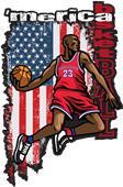 Basketball Graphic T-Shirts
