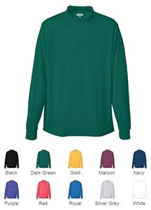 Augusta Youth Wicking Mock Turtleneck. Decorated in seven days or less.