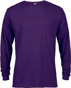 Womens 5.2 oz Pre-Shrunk Cotton Long Sleeve Tee Shirt. Printing is available for this item.