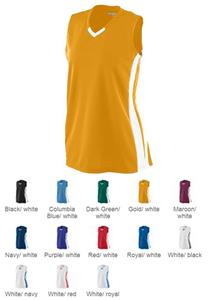 Augusta Women's Wicking Mesh Powerhouse Jersey. Printing is available for this item.