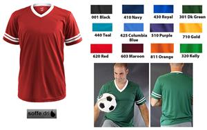 Soffe Dri All Sport Jerseys. Printing is available for this item.