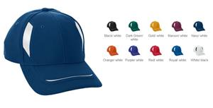 Augusta Youth Adjustable Wicking Mesh Edge Cap. Embroidery is available on this item.