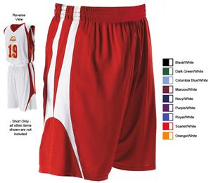 17fa88213ea Alleson 54MMP Adult Reversible Basketball Shorts - Basketball Equipment and  Gear