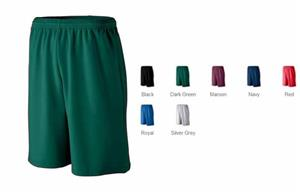 Augusta Youth Longer Length Mesh Athletic Short
