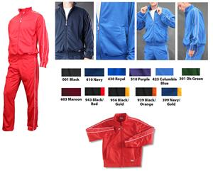 Soffe Juniors Brushed Tricot Warm-Up Jackets