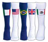Red Lion Country Flag Athletic Socks - Closeout