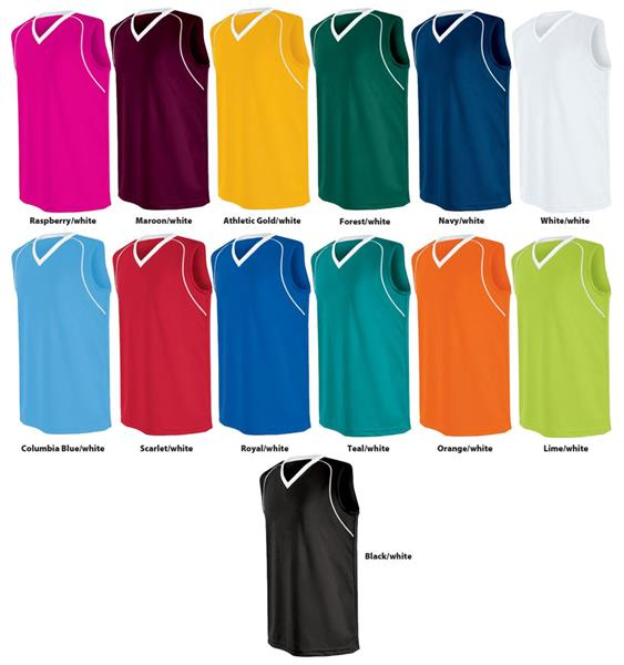 ce9375bc6e0 High Five Womens Girls Flex Sleeveless Jerseys