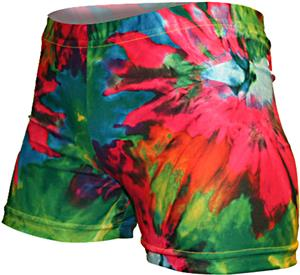 Gem Gear Compression Tie Dye Blast Shorts