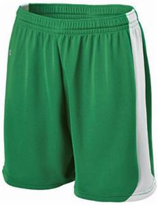 "Womens 5"" Inseam Cooling Elastic Drawstring Waist Softball Shorts - CO"